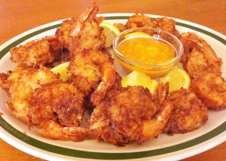 Coconut Cumin Shrimp